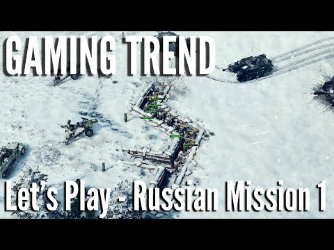 Sudden Strike - Let's Play - Soviet Mission 1 on PC - [Gaming Trend]