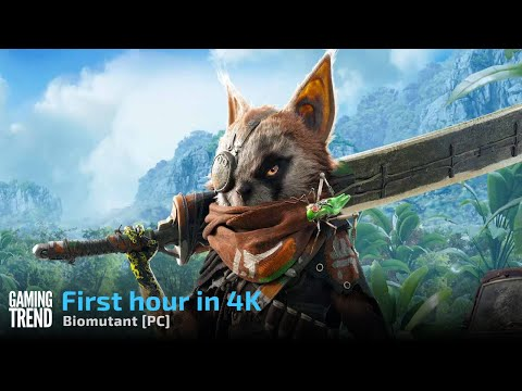 Biomutant - First Hour in 4K on PC [Gaming Trend]