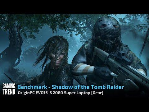 OriginPC EVO-15S - Shadow of the Tomb Raider Benchmark [Gaming Trend]