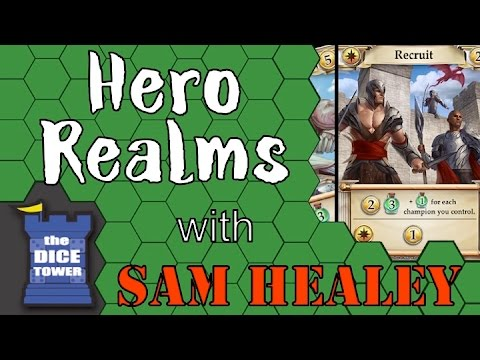 Hero Realms Review - with Sam Healey