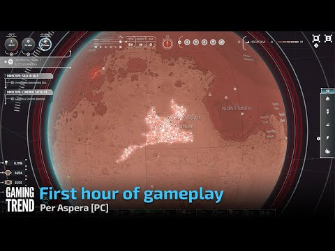 First hour of gameplay - Per Aspera [PC] - [Gaming Trend]