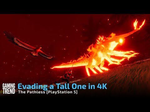 The Pathless - Avoiding a Tall One in 4K on PlayStation 5 [Gaming Trend]