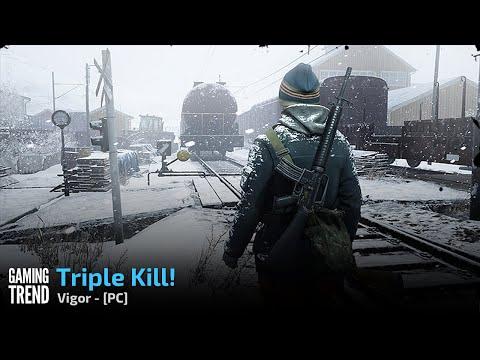 Vigor Gameplay - Triple kill - PC [Gaming Trend]