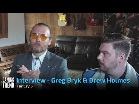 Far Cry 5 - Interview - Greg Bryk and Drew Holmes [Gaming Trend]