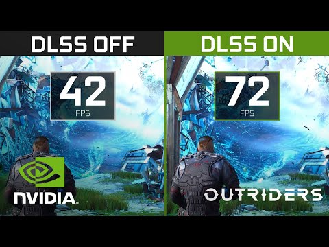 Outriders | 4K NVIDIA DLSS Comparison