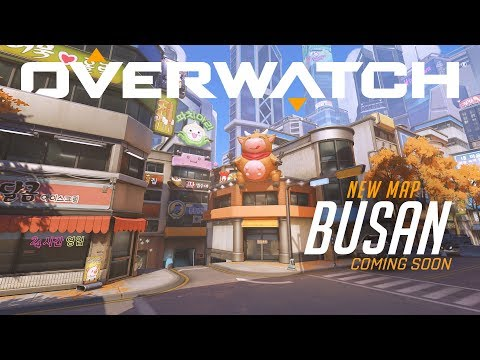 [NOW PLAYABLE] Busan   New Control Map   Overwatch