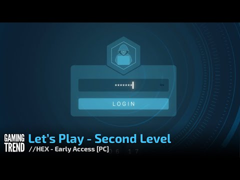 //HEX The Bank Hacking Game – Early Access Let's Play - Second Level Video [Gaming Trend]