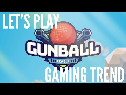 Gunball League VR - Let's Play - Level 8 - HTC Vive - [Gaming Trend]