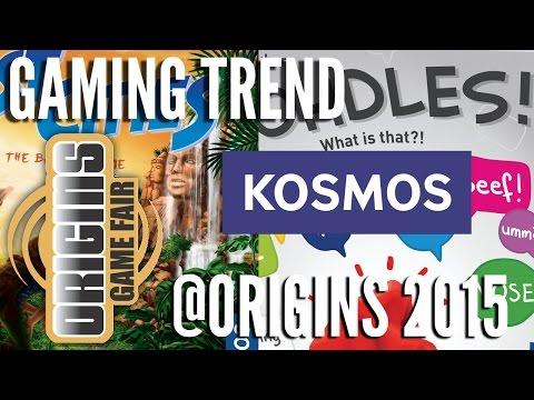 Kosmos @ Origins 2015 - [Gaming Trend]