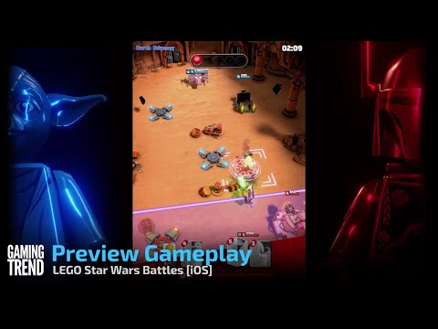 LEGO Star Wars Battles Preview Gameplay - iOS [Gaming Trend]