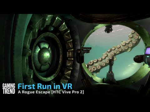 A Rogue Escape in VR on Oculus Quest 2 - First 30 minutes [Gaming Trend]