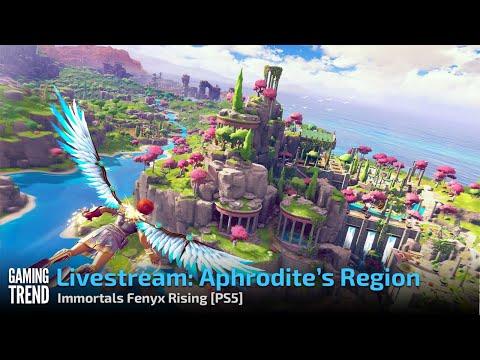 Aphrodite's Region - Immortals Fenyx Rising - PS5 [Gaming Trend]
