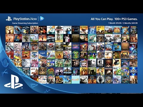 PlayStation Now Subscription New Games for June 2015 | PS4, PS3