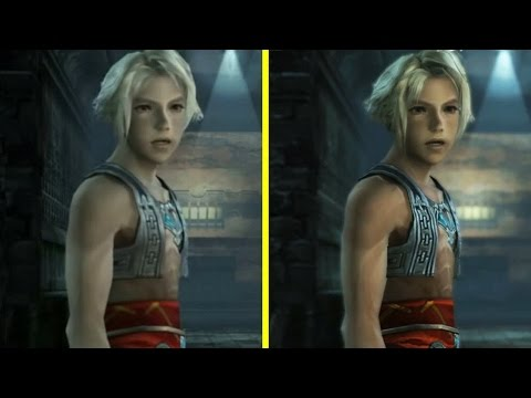 Final Fantasy XII PS2 vs PS4 Reveal Trailer Graphics Comparison