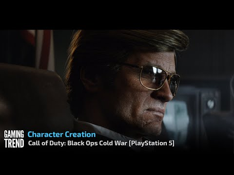 Call of Duty: Black Ops Cold War - Character Creation on PlayStation 5 [Gaming Trend]