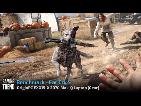 OriginPC EON15-X 2070 Max-Q AMD Laptop - Benchmark - Far Cry 5 [Gaming Trend]
