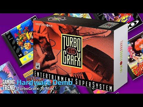 TurboGrafx-16 Mini - Hardware Demo [Gaming Trend]