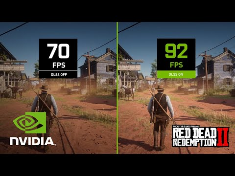Red Dead Redemption 2   Official NVIDIA DLSS 4K Launch Trailer - Available Now