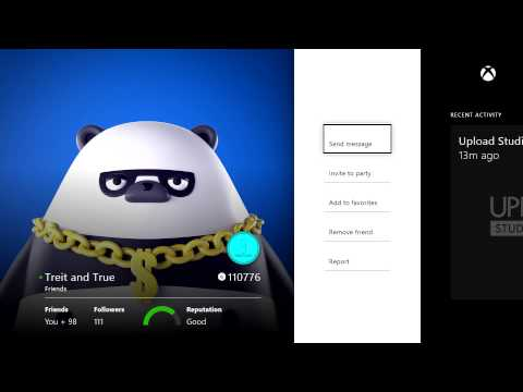 Friends App on Xbox One Walkthrough