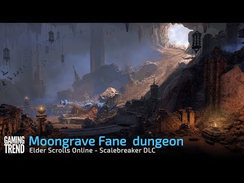 Moongrave Fane dungeon - Elder Scrolls Online Scalebreaker DLC [Gaming Trend]