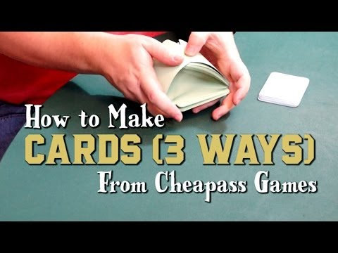 How to Make Cards (3 Ways)