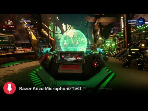 Razer Anzu Smart Glasses Microphone Test with Deep Rock Galactic [Gaming Trend]