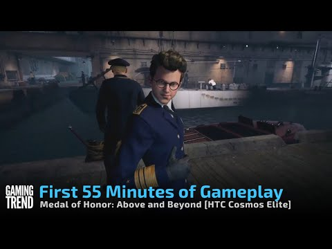 Medal of Honor Above and Beyond - First 55 minutes of gameplay on Vive Cosmos Elite [Gaming Trend]