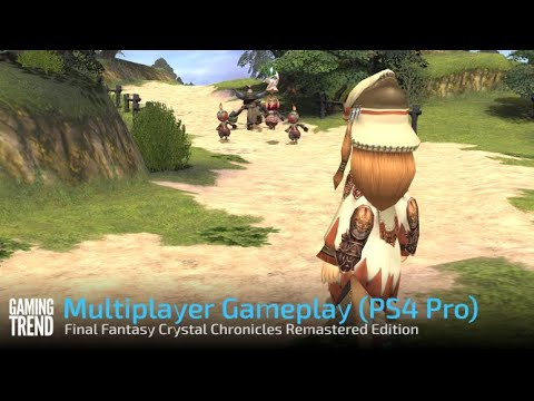 Final Fantasy Crystal Chronicles Remastered Edition Multiplayer Gameplay - PS4 Pro - [Gaming Trend]