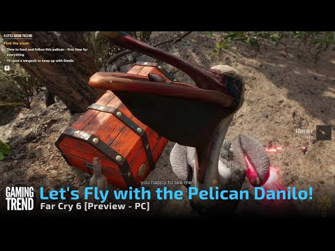 Far Cry 6 Preview - Flying with the Pelicans Preview on PC [Gaming Trend]