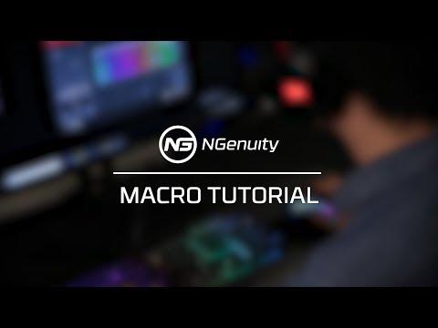 Creating Macros Tutorial - HyperX NGenuity Software