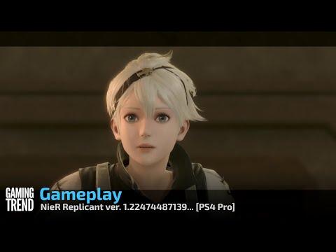 NieR Replicant ver. 1.22474487139... Gameplay - PS4 [Gaming Trend]