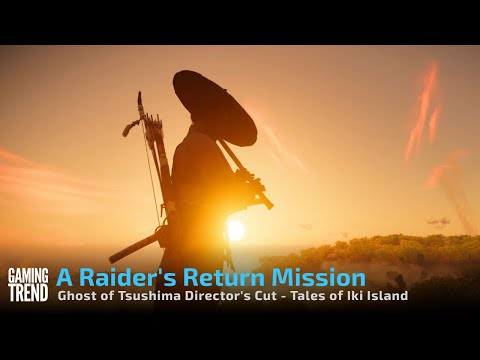 Ghost of Tsushima Director's Cut Tales of Iki Island on PS5 - A Raider's Return [Gaming Trend]