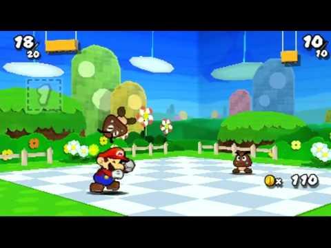 Paper Mario Sticker Star E3 Gameplay Demo