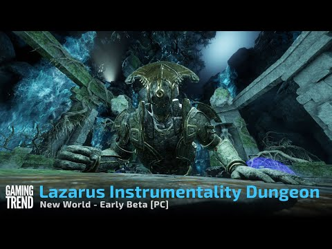 New World Endgame Dungeon - The Lazarus Instrumentality Cilla Fight and Party Wipe - [Gaming Trend]
