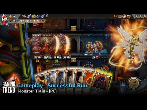 Monster Train - Gameplay Successful Run - PC [Gaming Trend]