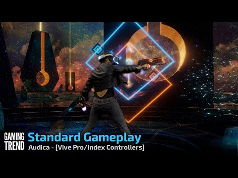 Audica - Gameplay on Standard - Vive Pro and Index Controllers [Gaming Trend[