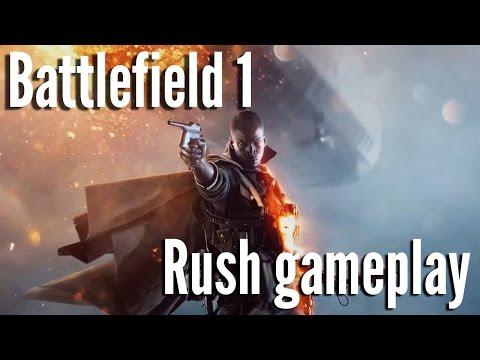 Battlefield 1 multiplayer beta gameplay - Rush