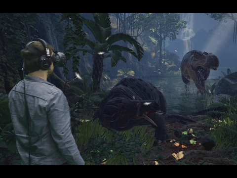 ARK Park- First hands-on experience footage