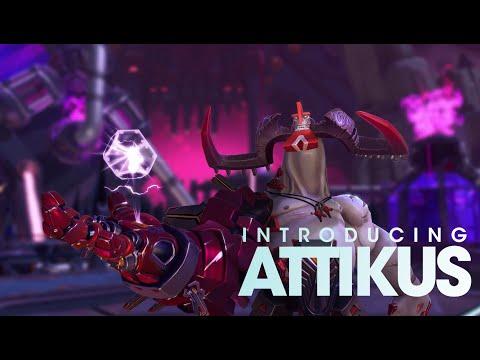 Battleborn: Attikus Character Highlight