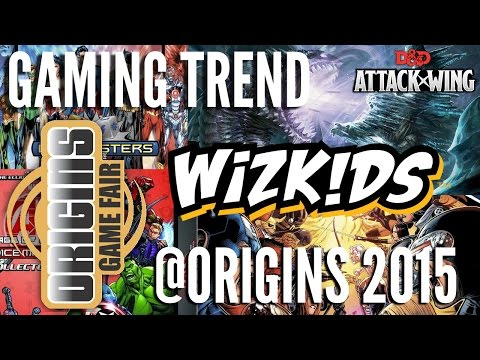 WizKids @ Origins 2015 - [Gaming Trend]