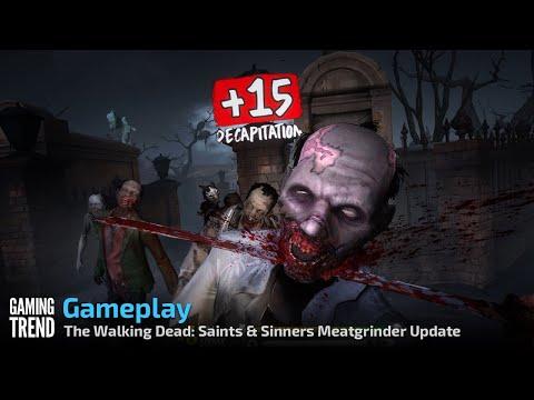 The Walking Dead: Saints & Sinners - Meatgrinder Update Gameplay - PC [Gaming Trend]