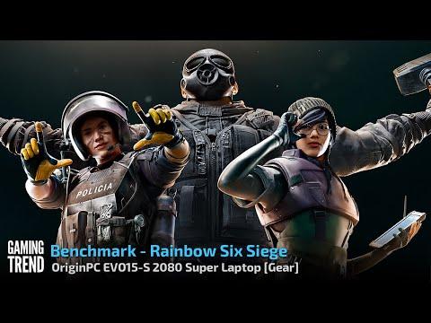 OriginPC EVO-15S - Rainbow Six Siege Benchmark [Gaming Trend]