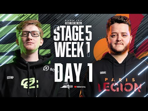 Call Of Duty League 2021 Season | Stage V Week 1 — New York Home Series | Day 1