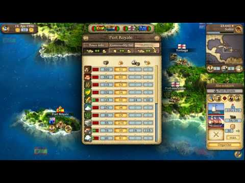 Port Royale 3: Pirates & Merchants Video Tutorial No. 2 - Ships, Convoys and Battles