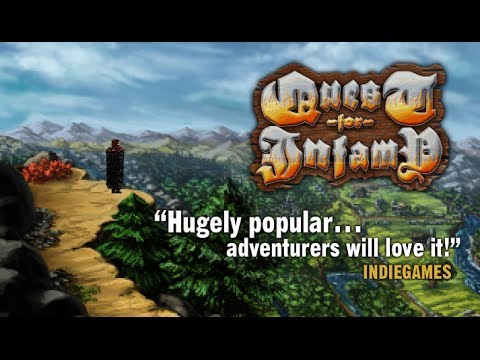 Quest for Infamy Publishing Announcement Trailer