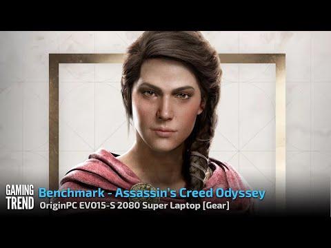 OriginPC EVO-15S - Assassin's Creed Odyssey Benchmark [Gaming Trend]