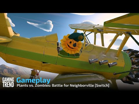 Plants vs. Zombies: Battle for Neighborville Gameplay - Switch [Gaming Trend]