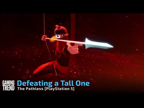 The Pathless - Defeating a Tall One in 4K on PlayStation 5 [Gaming Trend]