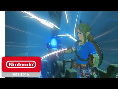 The Legend of Zelda: Breath of the Wild - Shrine of Trials Gameplay Part 1/4 - Nintendo E3 2016