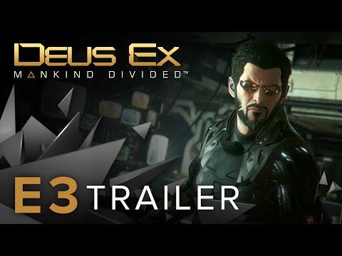 Deus Ex: Mankind Divided – E3 2015 Trailer [NA]